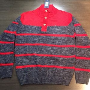 Tommy Hilfiger Boys Knit Pullover Sweater L/G16-18